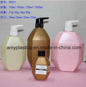 Plastic Bottle with Pump Cap for Packaging pictures & photos