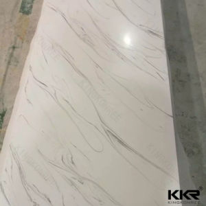 Glacier White Acrylic Solid Surface for Countertop Tops pictures & photos
