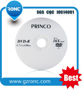 Good Quality Virgin Material 16X 4.7GB Blank DVD-R pictures & photos