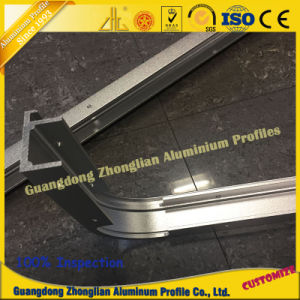 OEM Aluminum Extrusion Profile with Bending Machining Advertisement Box pictures & photos