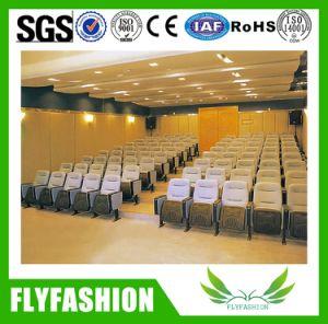 Universtiy Furniture Comfortable Fabric Chair Folding Seat Auditorium Chair pictures & photos