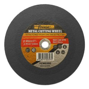300*3*25.4mm Flat Type Cut-off Disc Cutting Wheel for Metal pictures & photos