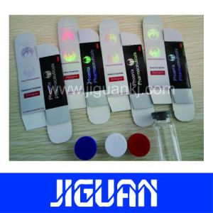 High Quality Hologram Good Price 10ml Benzyl Alcohol Vial Label pictures & photos