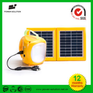 High Quality Portable LED Solar Camping Lantern Rechargeable Solar Emergency Light pictures & photos