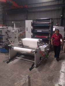 Flexographic Printing Machine for Paper Cup 4color 1000mm pictures & photos