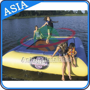 Inflatable Water Boun⪞ Er, Square Inflatable Water Sport Trampoline, Bungee Trampoline pictures & photos