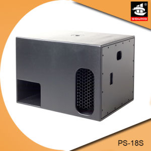 Professional Powerful DJ Audio Speaker Subwoofer PS-18s pictures & photos