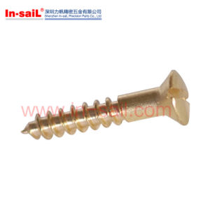 Udc621 Slotted Raisee Head Screw with Shoulder pictures & photos