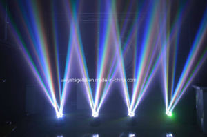 LED6X12W Quad RGBW 4 in 1 LED Beam Moving Head Light pictures & photos