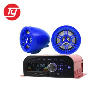4 Channel Power Amplifier Free Music MP3 Songs Motorcycle MP3 Audio Anti-Theft Alarm System pictures & photos