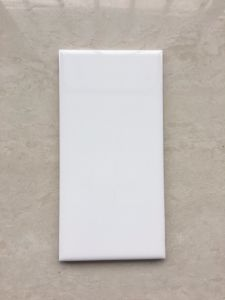 4X8/10X20cm White Glossy Subway Wall Tile for Bathroom and kitchen pictures & photos
