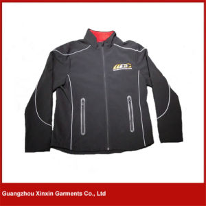 Men Custom Outdoor Fleece Lined Clothing Softshell Jackets (J70) pictures & photos