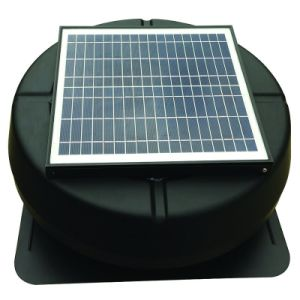 Solar Vent 14 Inch 15W Attic Fan with Brushless Motor Warehouse Exhaust Fan pictures & photos