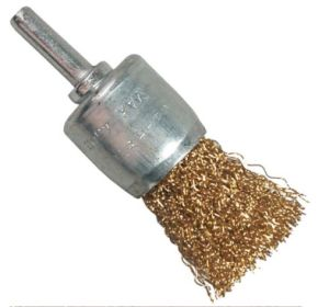 """1"""" (25mm) Power Tools Accessories Steel Wire End Brush with Shank pictures & photos"""