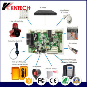 VoIP SIP PCB Board Kn518 with TFT Display and Camera pictures & photos
