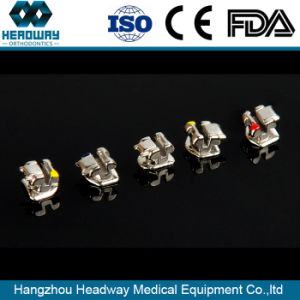 Dental Material Orthodontic Self Ligating Metal Bracket Ce FDA ISO13485 pictures & photos