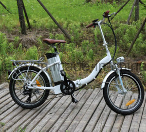 20inch Tyre Folding Electric Bicycle for Lady pictures & photos