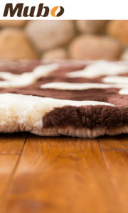 6′ X 6.5′ Branches Premium Australian Sheepskin Rug pictures & photos