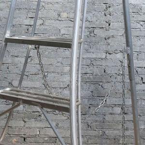 Aluminium Ladder Aluminum Extrusion Metal Alloy Ladder Profile pictures & photos