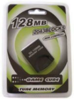 Game Cube 8/16/32/64/128MB Memory Cards (JT-0802851)