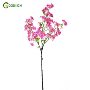 Cherry Blossom Artificial Flower with 3 Branches pictures & photos