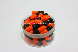 Black/Orange Empty Color Capsules/ Empty Hard Gelatin Capsules pictures & photos