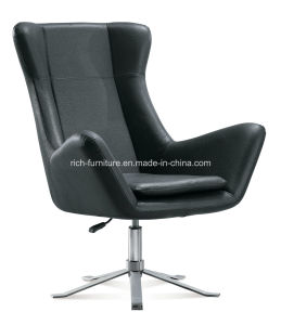 Modern Leisure PU Upholstery Rotary Cafe Chair pictures & photos
