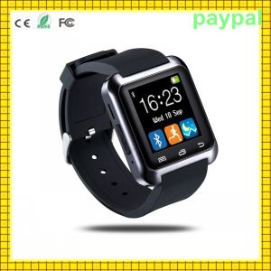 "2015 Hot 1.44"" 3.0 Bluetooth Andriod Watch (u800) pictures & photos"