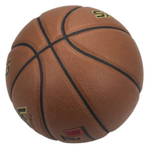 High Quality PU Laminated Basketball pictures & photos