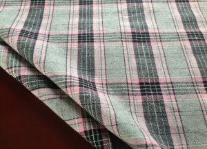 Big Check Poplin for Shirt Y/D 100% Cotton (035)