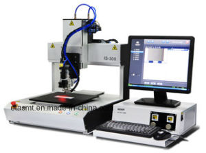 Is Series Desktop Dispenser Gluing Machine for Lens Fixing Is-500 pictures & photos