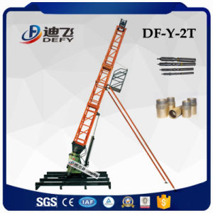 Df-Y-2t 500m Trailer Mounted Diamond Core Borehole Drilling Rig Machine pictures & photos
