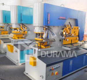 Hydraulic Ironworker, Cutting Machine, Ironwork Machine, Punching Machine, Universal Punching, Shearing Machine, Channel Steel Cutting Machine pictures & photos