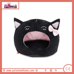 Cartoon Lovely Cat Pet Bed in Black pictures & photos
