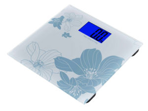 AAA Battery Weighing Big Display Bathroom Scale (dB719W) pictures & photos