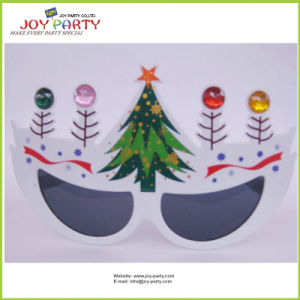 New Design for Christmas Tree Plastic Party Glasses