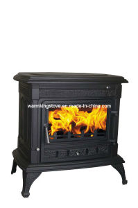 Cast Iron Wood Burning Stoves (AM02B(S)-14KW) pictures & photos