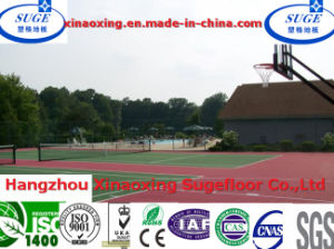 Slip Resistant PP Basketball Court Flooring pictures & photos