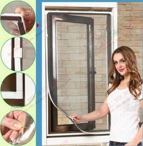 Magnetic Mosquito Screen with Thick Bottom Frame (BHN-M02) pictures & photos