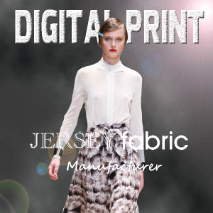 Jersey Printing for Woman′s Dress (M095) pictures & photos