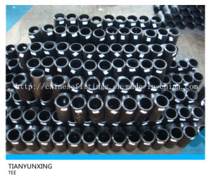Butt Welded Carbon Steel Equal Seamless Fittings Tee pictures & photos