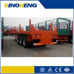 13m 3 Axle Logging Transport Semi Trailer pictures & photos