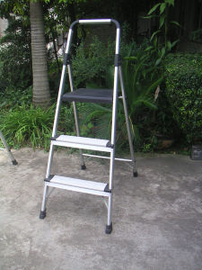 Aluminium Step Ladder with Handrail (Nc-100d3)