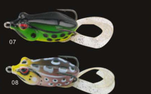Double Hook with Tail Soft Frog Fishing Frog Fishing Lure pictures & photos
