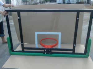 Roof Mount Glass Basketball Backboard for School, Gymnasium and Stadium pictures & photos