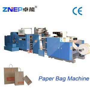Automatic Roll Feeding Gift Shopping Paper Bag Machine (ZD-F290)