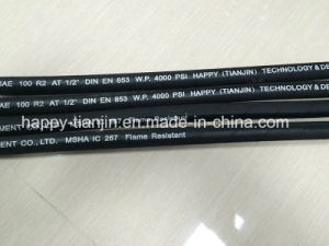 DIN En853 2sn Hydraulic Oil Rubber Hose Pipe pictures & photos