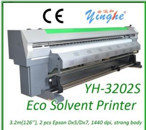 Low Cost New Model 3.2m Double Head Eco Solvent Plotter pictures & photos