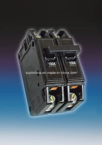Bh 6-100A Two Pole Professional Hydraulic Miniature Circuit Breaker pictures & photos