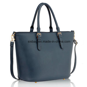 High Quality Nude Grab Women Shoulder Handbag pictures & photos